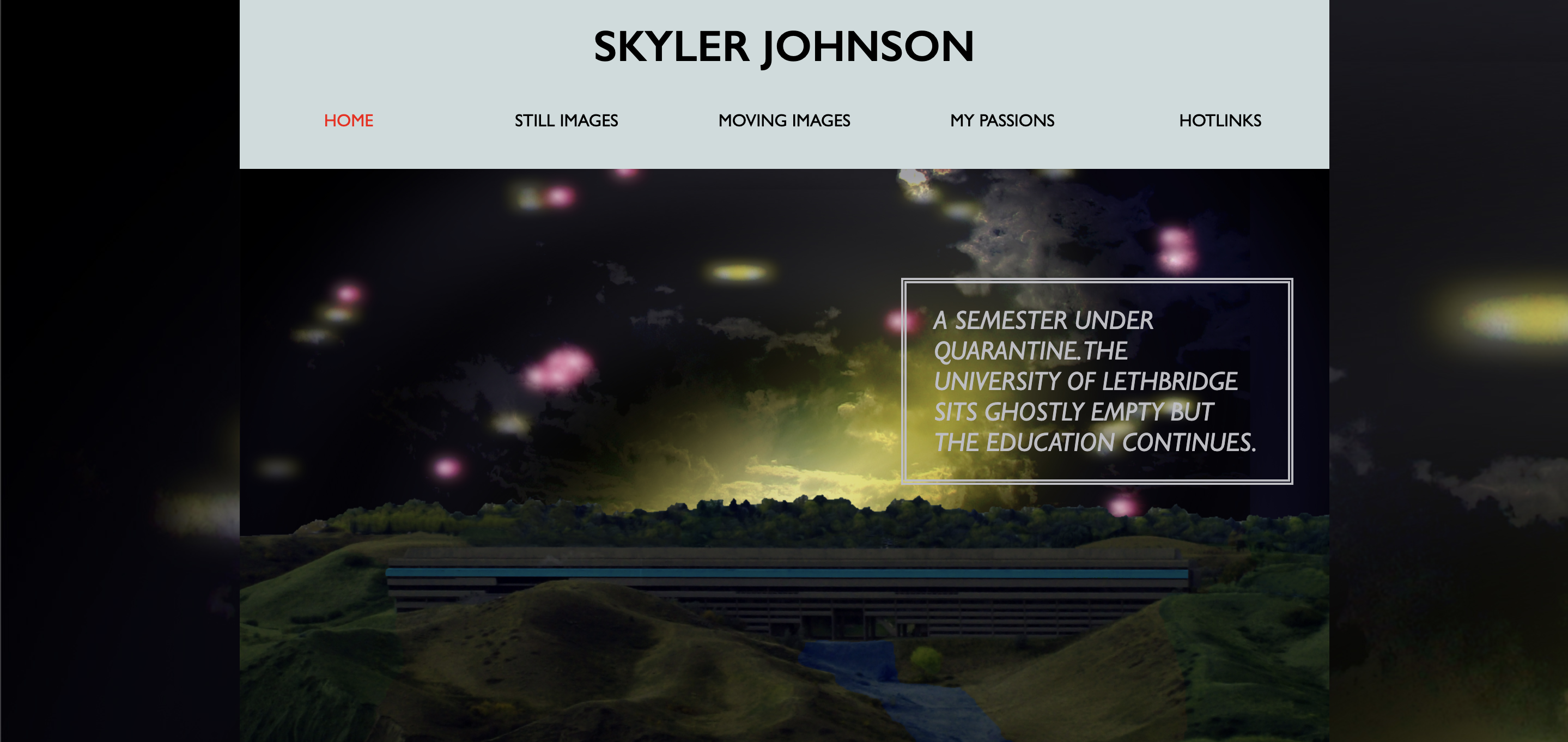 Skyler Johnson Website